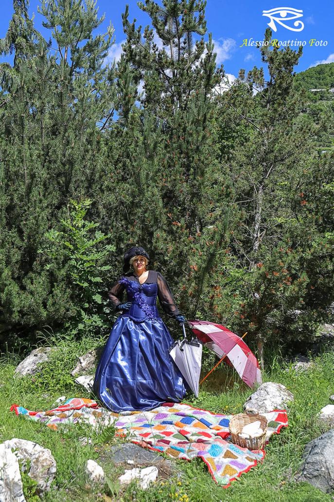 Shooting picnic vittoriano Ormea