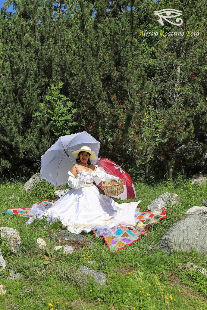 Rosaria Shooting picnic vittoriano Ormea