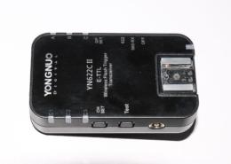 Yongnuo yn 622 c II trigger radio per flash