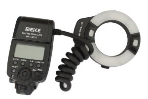Flash Meike anulare MK 14 EXT