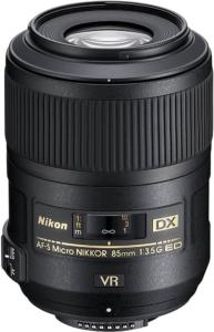 Nikon AF-S DX 85mm f/3.5 G ED VR Micro