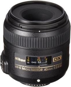 Nikon AF-S DX 40mm f/2.8 G Micro